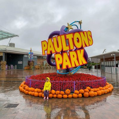 Review: A Rainy Trip To Paultons Park For Halloween…